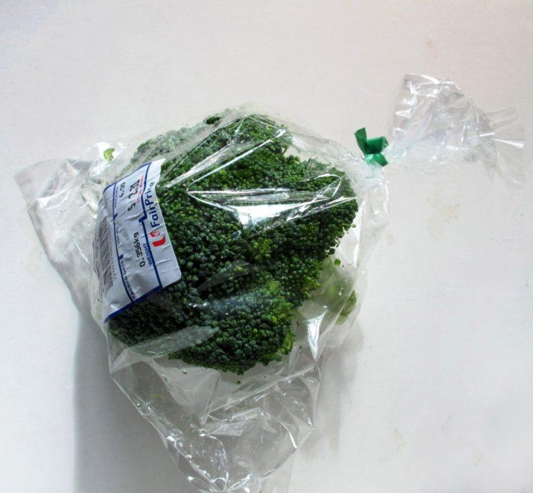 Warzywa w folii? Barierowość tworzyw sztucznych