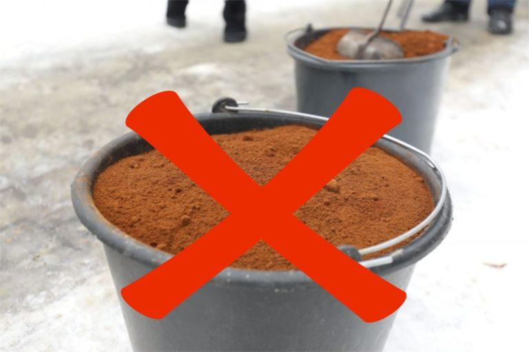 Dlaczego fusy z kawy do odśnieżania to zły pomysł?